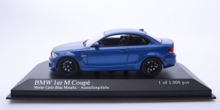 BMW 1 Series M Coupe 2011 Blue metallic