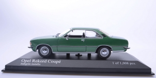 Opel Rekord D Coupe 1975 Green metallic