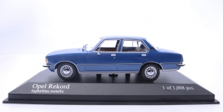 Opel Rekord 1975 Blue metallic