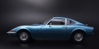 Opel GT 1972 Blue Metallic