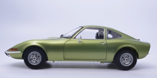 Opel GT 1900-1972 Green Metallic