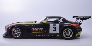 MERCEDES-BENZ SLS AMG GT3 TEAM ABU DHABI BY BLACK FALCON-AI QUBAISIBLEEKEMOLEN