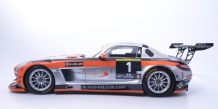 MERCEDES-BENZ SLS AMG GT3 TEAM ABU DHABI BY BLACK PALCON AL QUBAISIEDWARDSBLEE