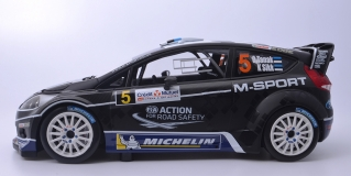 M-Sport Ford World Rally Team TanakSikk Rally de France Alsace 2012