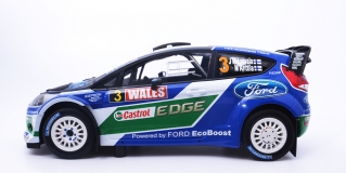 Ford World Rally Team LatvallaAnttila Winner Wales Rally GB 2012