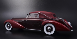 1939 Delage D8-120 Cabriolet The Mullin Automotive Museum Collection
