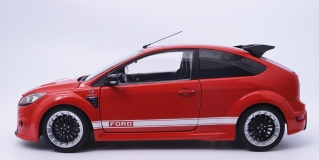 Ford Focus RS 2010 Le Mans Classic Edition Red 1967 Ford MK.IV Tribute