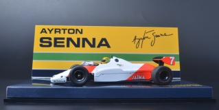 Model - MCLAREN COSWORTH MP4/1C - AYRTON SENNA -MP4/1C - AYRTON SENNA - TEST SIL
