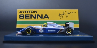 Model of WILLIAMS FW 16 1994 AYRTON SENNA