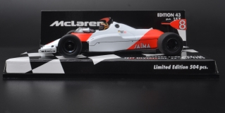 Model - MCLAREN COSWORTH MP4/1C - STEFAN BELLOF -TEST SILVERSTONE 10TH NOVEMBER