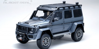 Brabus 550 Adventure Mercedes-Benz G 500 4×4² 2017 - Metallic Grey
